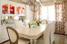 Vintage style dining room.