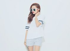 Cool shorts and top ♥