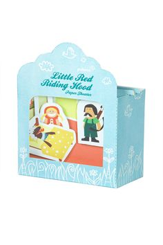 Little Red Riding Hood Paper Theater DIY Paper Craft by pukaca