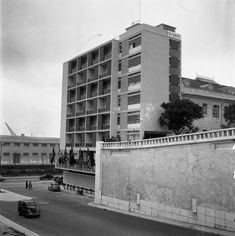 Portugal, Multi Story Building, History, Architecture, Places, Topographic Map, Stone Facade, Saints, 1950s