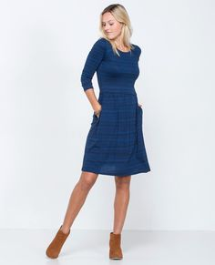 Imogene Three Quarter Dress