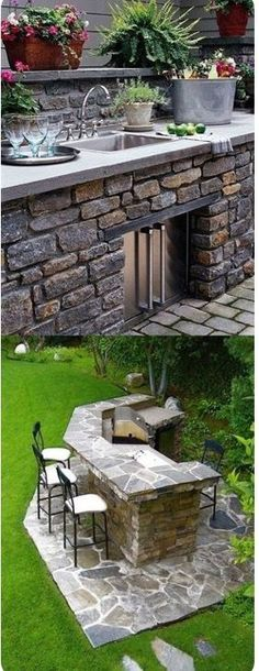 Outdoor Kitchen Ideas Black Coin E A on