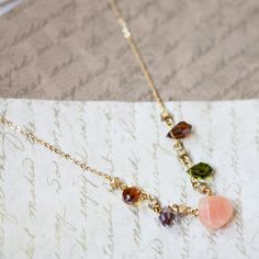 sweet spring bouquet necklace - Ruche  $19.99