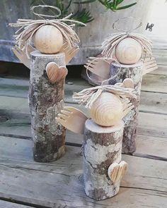 Ze zahrady vzala zbytkové dřevo, které následně rozřezala: Během chvíle vykouzlila úžasné dekorace, které ji nyní každý závidí! | Prima
