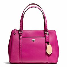Coach Peyton leather Jordan double zip carryall- I have this and LOVE it. Perfect for Spring.