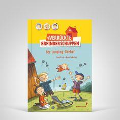 Lena Hach / Daniela Kulot: Der verrückte Erfinderschuppen - Der Looping Dreher. Mixtvision Verlag. #kinderbuch #erfinder #looping #humor #witzig #abenteuer #spaß