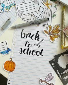 Oszlánszki Marcsi (@oszlanszkiart) • Instagram-fényképek és -videók Calligraphy Tutorial, How To Write Calligraphy, Back To School, Templates, Writing, Instagram, Stencils, Vorlage, Entering School