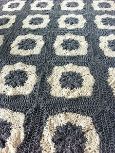 Ravelry: Project Gallery for Nordic Star Afghan Square pattern by Priscilla Hewitt