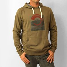 Protest Mens Nails C Hoody: Army £45.00