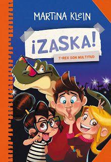 Ilustraciones: ¡ZASKA! T-REX SON MULTITUD