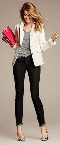 Love the whole outfit but with pants not jeans.