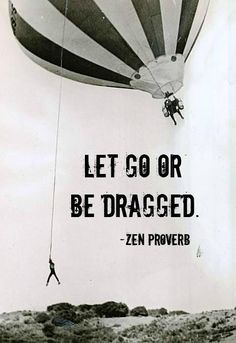 """""""Let go or be dragged"""" ~ Zen Proverb    How are you letting go of what is no longer serving you these days?    Comment below and you'll be entered to #WIN a Plank Signature #YOGA Mat this month!"""