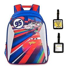 Disney Cars Lenticular Backpack and Luggage Tage  2 Piece Gift Set >>> To view further for this item, visit the image link.