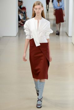 Ondria Hardin@spring 2015 Ready-to-Wear - Jil Sander