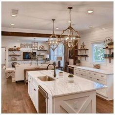 Traditional country kitchens are a design option that is often referred to as being timeless. Over the years, many people have found a traditional country kitchen design is just what they desire so they feel more at home in their kitchen. Diy Kitchen Remodel, Home Decor Kitchen, Kitchen Interior, Kitchen Ideas, Kitchen Remodeling, Kitchen Hacks, Kitchen Furniture, Wood Furniture, Kitchen Makeovers