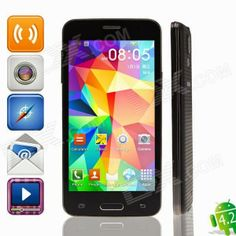 Dx Romania: Mini S5 MTK6589 Quad-Core Android 4.2.2  4.5""