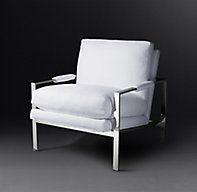 Milo Baughman #951-103 fabric Chair