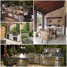 exklusive gartenmöbel outdoor küche küchenmöbel edelstahl