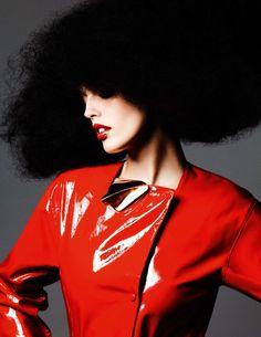 Emily Didonato by Ben Hassett for Vogue Paris November 2015 0