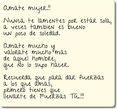 Amate mujer..!!!