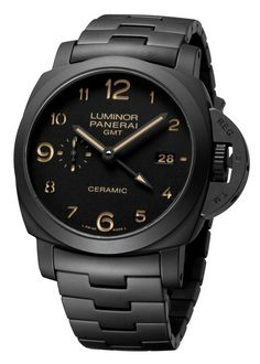 TUTTONERO PAM00438 - Collection 3 Days GMT - Watches Officine Panerai