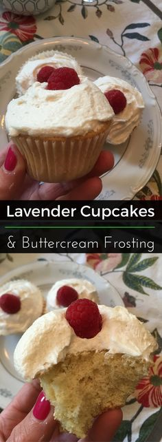These refreshing organic cupcakes are absolutely deletable! Thanks to the infused lavender and fresh, homemade buttercream frosting, these treats are full of flavor. Enjoy! | Clearly Organic Nutritionist Corner