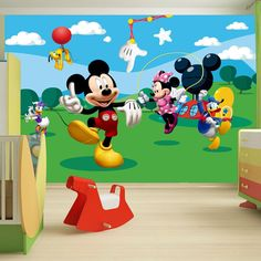 mickey mouse rooms | DISNEY MICKEY MOUSE BEDROOM ACCESSORIES BEDDING & FURNITURE NEW ...