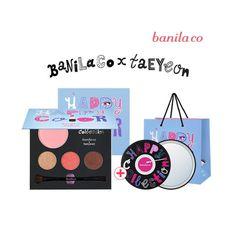 Banila Co x SNSD Taeyeon Happy Collection Taeyeon Color Kit  #BanilaCo