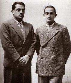 Buñuel y Dalí.