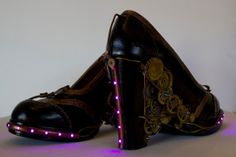 Steampunk Lighting Shoes