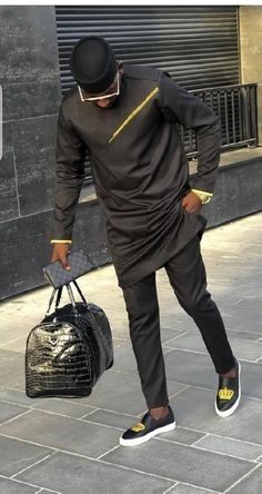 Image may contain: one or more people, people standing and shoes Latest African Wear For Men, Latest African Men Fashion, African Shirts For Men, Nigerian Men Fashion, African Dresses Men, African Attire For Men, African Clothing For Men, Indian Men Fashion, Mens Fashion