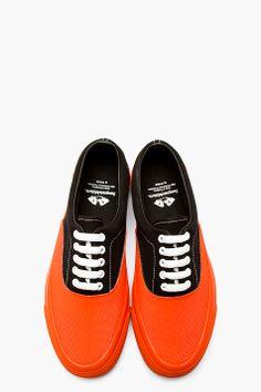 info for fb5fe f8279 SASQUATCHFABRIX Black   Coral Satoyama Era Sneakers Herrskor, ...