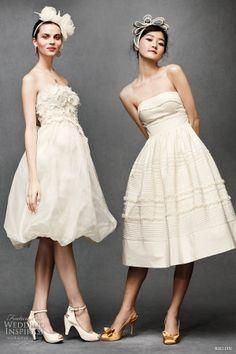 Abiti da sposa 2014 cercasi: gli abiti corti