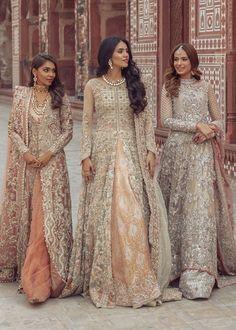 Asian Bridal Dresses, Pakistani Wedding Outfits, Indian Bridal Outfits, Indian Gowns Dresses, Pakistani Bridal Dresses, Pakistani Wedding Dresses, Pakistani Dress Design, Nikkah Dress, Asian Bridesmaid Dresses