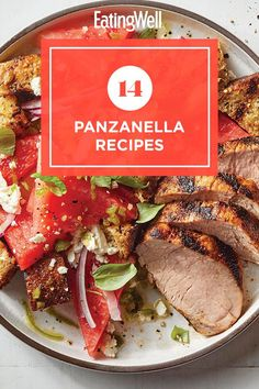 Make a delicious main or side dish with these panzanella recipes. A panzanella is a Tuscan salad that's traditionally made with stale bread and tomatoes. Here, we put our spin on the bread salad with different flavor and ingredient combinations. #salads #saladrecipes #healthysalads #saladideas #healthyrecipes Tuscan Salad, Bread Salad, Stale Bread, Healthy Salads, Lettuce, Pasta Salad, Salad Recipes, Side Dishes