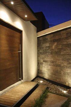 Muro llorón: Casas de estilo moderno por Narda Davila arquitectura