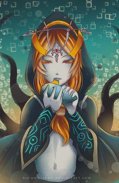 -- Zelda Fan-club Exchange: Midna -- by Kurama-chan.deviantart.com