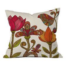 Valentina Ramos In The Garden Indoor/Outdoor Throw Pillow