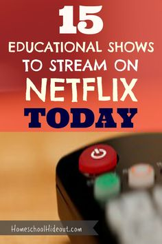 Fun shows to stream when you need a learning break! Perfect for a rainy day, when sickness hits your house or when you just need an hour to get the laundry done!