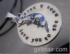 DIY Stamped Jewelry...once you buy the tools, this is exponentially cheaper than buying stamped jewelry!