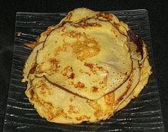 The Dukan Crepe Ingredients : * Milk, nonfat, 1 tbsp * Dry Milk powder , unsweetened and nonfat, 1 tbsp * Egg, fresh, 1 large * Splenda Suga,r 0.5 tsp ( for a sweet version) * Vanilla Extract, 0.5 tsp  Mix all ingredients and cook in a frying pan 1 minute each side, like a French Crèpe !