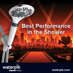For best performance in the shower, try an Easy Select by Waterpik #Oscars #Oscars2013