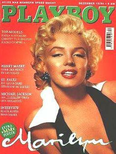 Marilyn Monroe - Playboy Magazine [Germany] (December 1994)