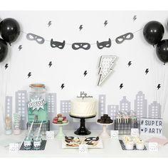 Nina Designs + Parties — SUPERHÉROES PARTY NIÑO/NIÑA