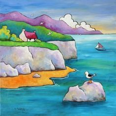 Seagull Rock Gillian Mowbray £240