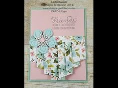 Today's Creative Fold Video features what I am calling a Full Pleated Card. You may remember the card I did a few weeks back that I called a Pleated Card. Well the pleat was just on one side of the...