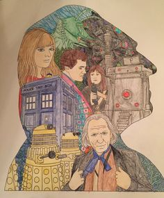 First Doctor - Doctor Who Coloring Book by syaoranlover5 on DeviantArt