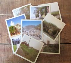 Vintage Set of Photographs and Handmade Box by WhatsNewOnTheMantel