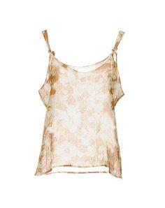 DRIES VAN NOTEN Топ Без Рукавов. #driesvannoten #cloth #dress #top #skirt #pant #coat #jacket #jecket #beachwear #