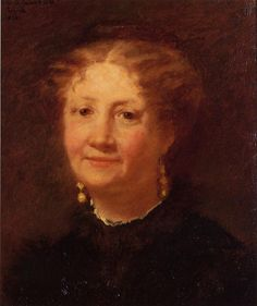 Portrait of Madame Cordier 1874   Mary Cassatt   Oil Painting